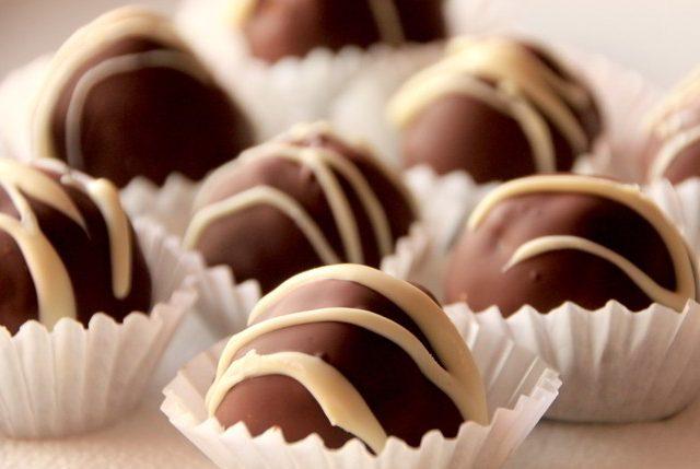 Cake Balls chocolate