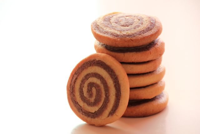 Galletas de vainilla y chocolate (en espiral)