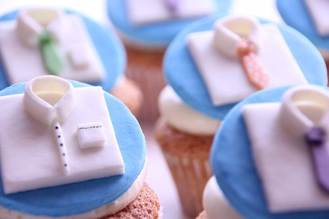 Cupcakes Día del Padre