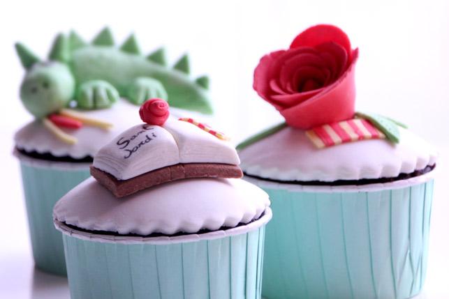 Cupcakes Sant Jordi