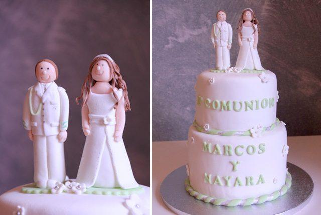Tarta comunión Marcos y Nayara