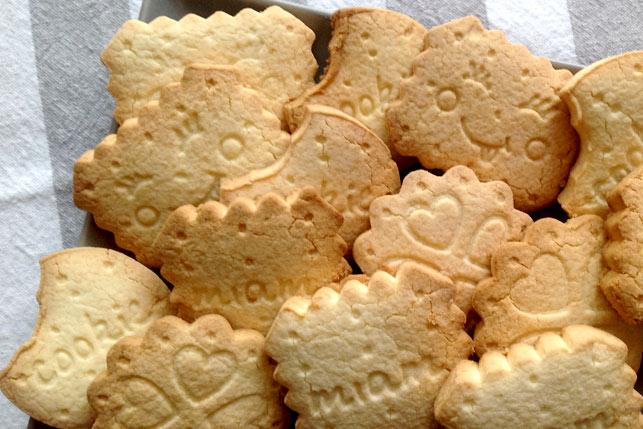 Galletas de mantequilla sin gluten